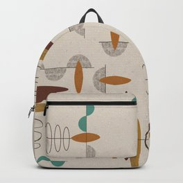 Mid-Century Modern Suspended Ovals Backpack