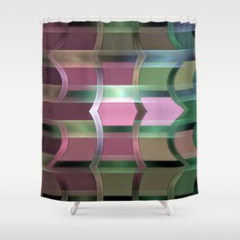 At the Break of Day Shower Curtain