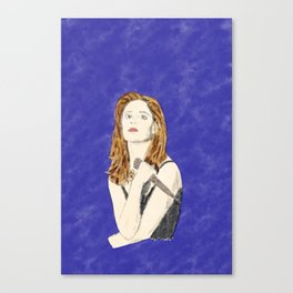 Buffy the Vampire Slayer - Watercolor Canvas Print