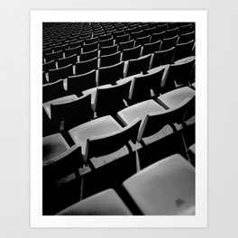 Olympic Stadium. Barcelona Art Print