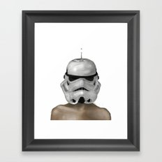 Droptrooper Framed Art Print