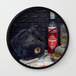 Memories of USSR Wall Clock