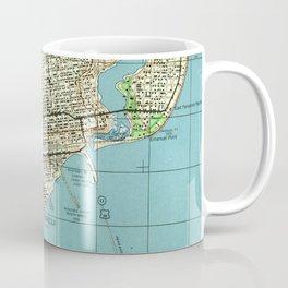 Vintage Map of Pensacola Florida (1944) Coffee Mug