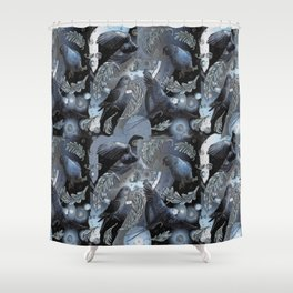 Jolie Ringneck Shower Curtain