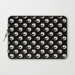 Polka Bat and Moon - Pattern Laptop Sleeve