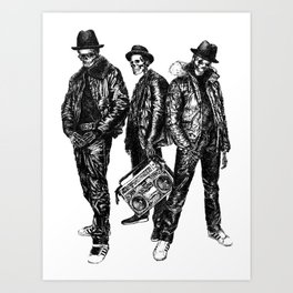 the Legend of Hip Hop Art Print