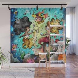 Somewhere Beyond the Sea Wall Mural