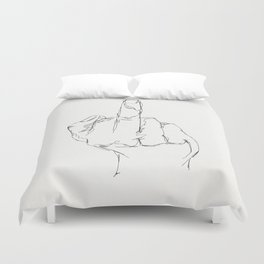 THINGS COLLECTION | MIDDLE FINGER Duvet Cover