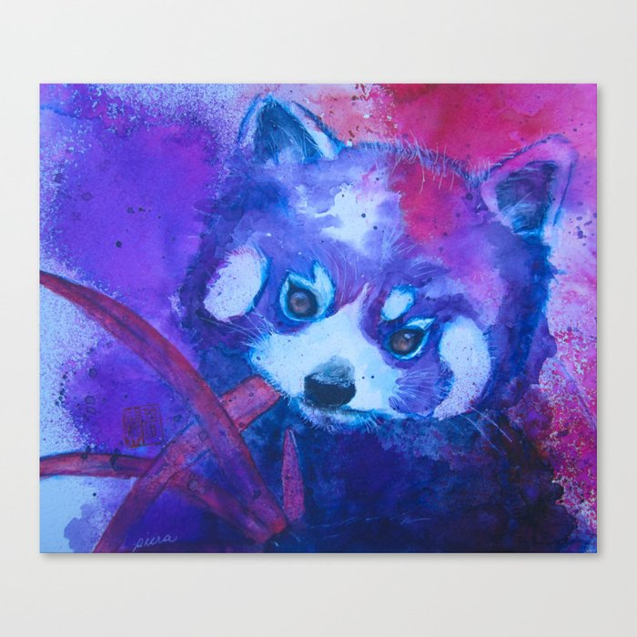 Baby Red Panda Canvas Print