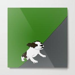 Annie The Boston Terrier Metal Print