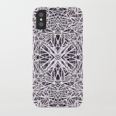 Black and white iPhone X Slim Case