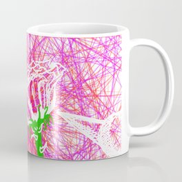 Metaphysical Penguins The Flower Of Love Coffee Mug