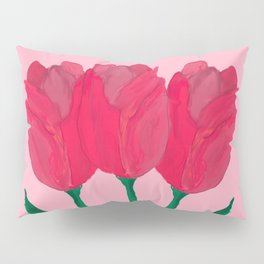 Spring Tulips Pillow Sham