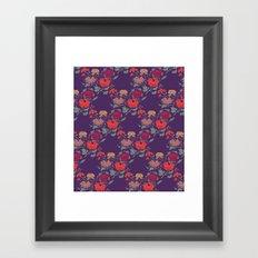Recolour Peonies Framed Art Print