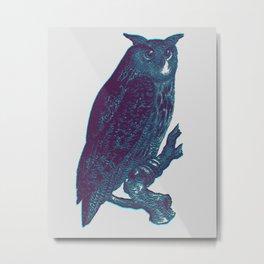 OWL'D Metal Print
