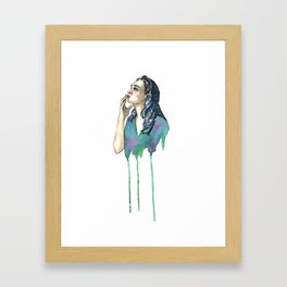 Just a Touch Framed Art Print