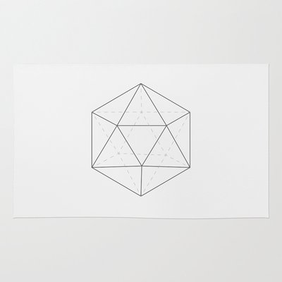 Black & white Icosahedron