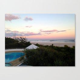 Hamptons View Canvas Print