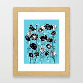 Wildflowers Grow Free Framed Art Print