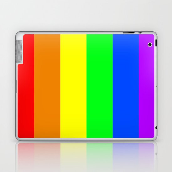 Rainbow Flag - High Quality image Laptop & iPad Skin