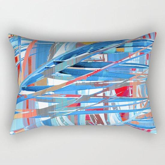 Floral abstract(45). Rectangular Pillow