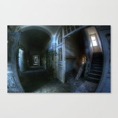 Horror hallway Canvas Print
