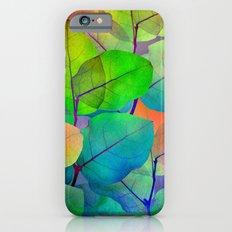 Translucent Leaves Slim Case iPhone 6