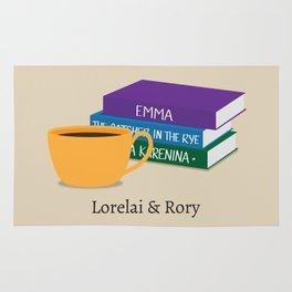 Lorelai & Rory Rug