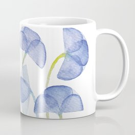 Violets flover, watercolor pattern Coffee Mug