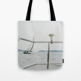 Sailing with Company Tote Bag