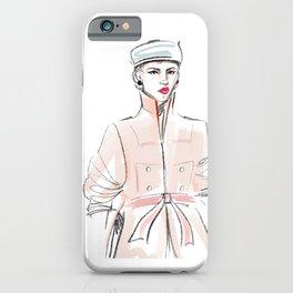 Rosie / Peach Trench iPhone Case