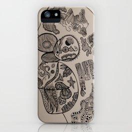 Homer Chimp iPhone Case