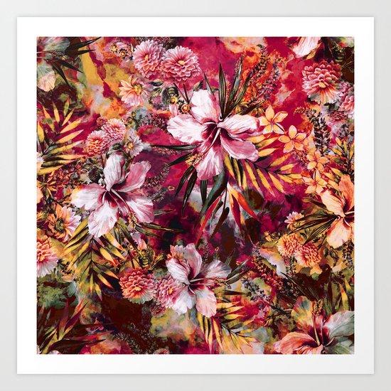 Tropical Heaven III Art Print