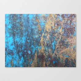 Rusty Art Canvas Print