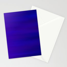 Ultra Violet to Indigo Blue Ombre Stationery Cards