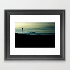 orizzonte Framed Art Print