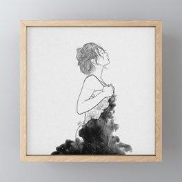 Deep ocean of secrets. Framed Mini Art Print