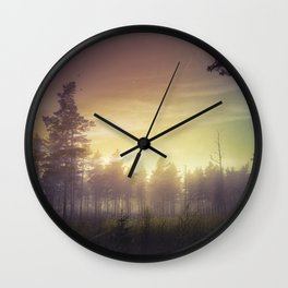 They told me you were here Wall Clock
