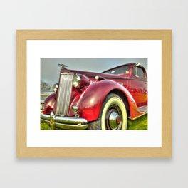 Packard Type 138 Vintage Saloon Car Framed Art Print