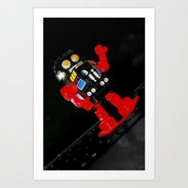 Robotic Art Print