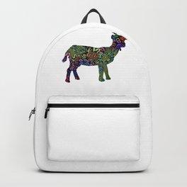 Floral Goat Backpack