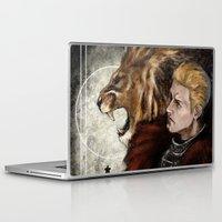 "dragon age inquisition Laptop & iPad Skins featuring Dragon Age Inquisition - Cullen - Fortitude by Barbara ""Yuhime"" Wyrowińska"
