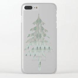 Kiwi Diamonds Clear iPhone Case