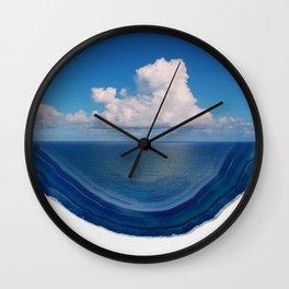 Agate Sea Wall Clock