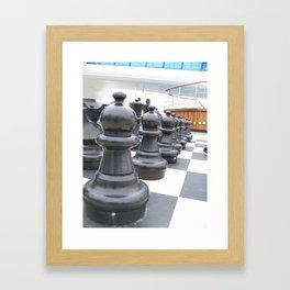 chess peice Framed Art Print