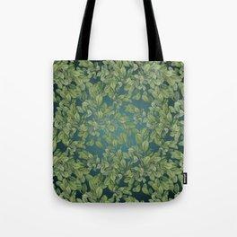 Verdant Leaves Tote Bag