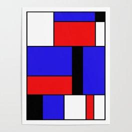 Mondrian #69 Poster