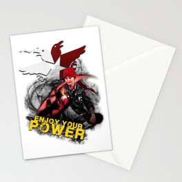 """InFamous Second Son - """"ENJOY YOUR POWER"""" Stationery Cards"""