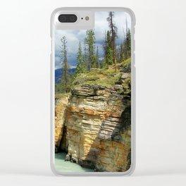 Sand Cliffs Clear iPhone Case