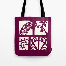 pomegranates and wrought iron Tote Bag